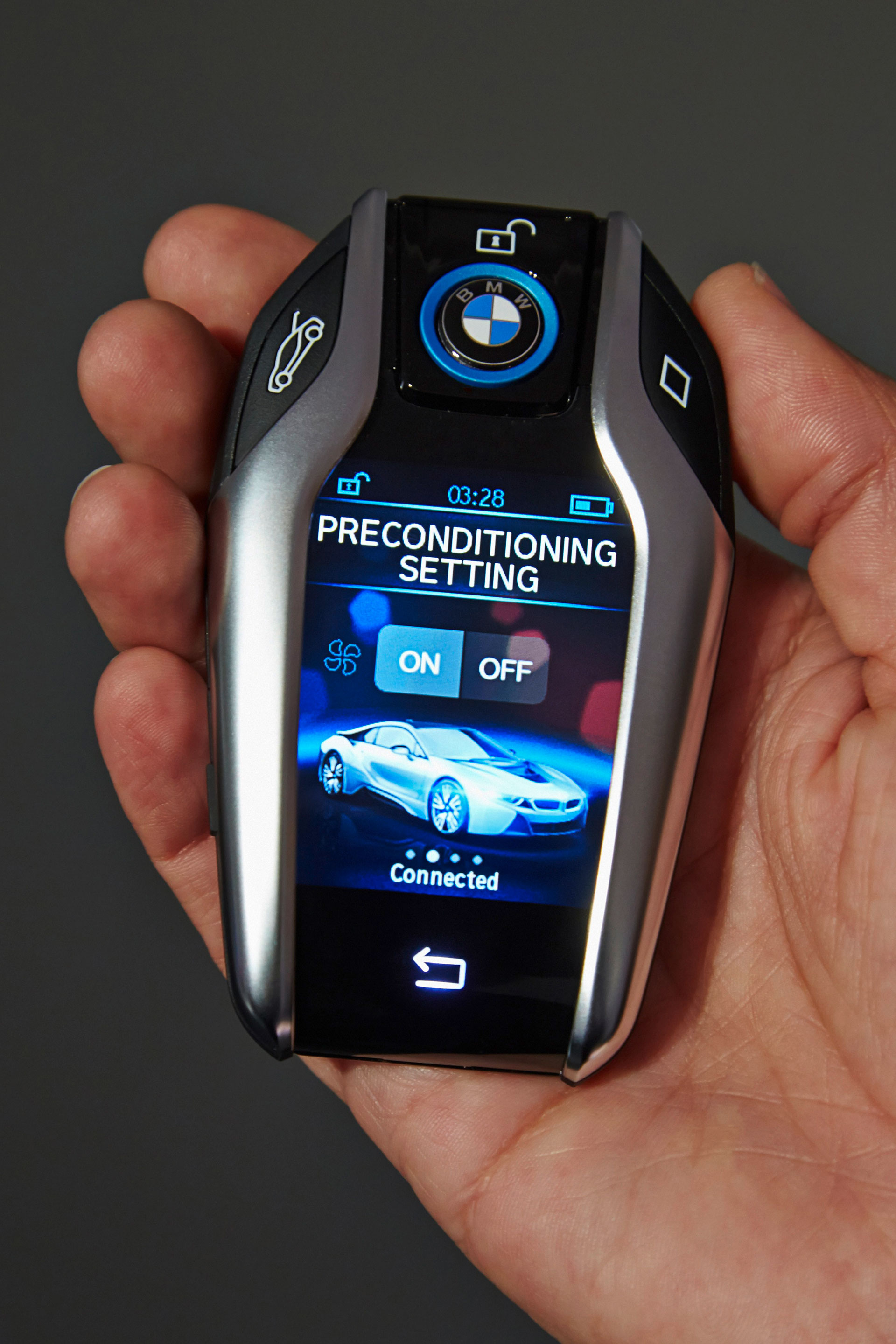 Bmw S New Key Fob With Lcd Display