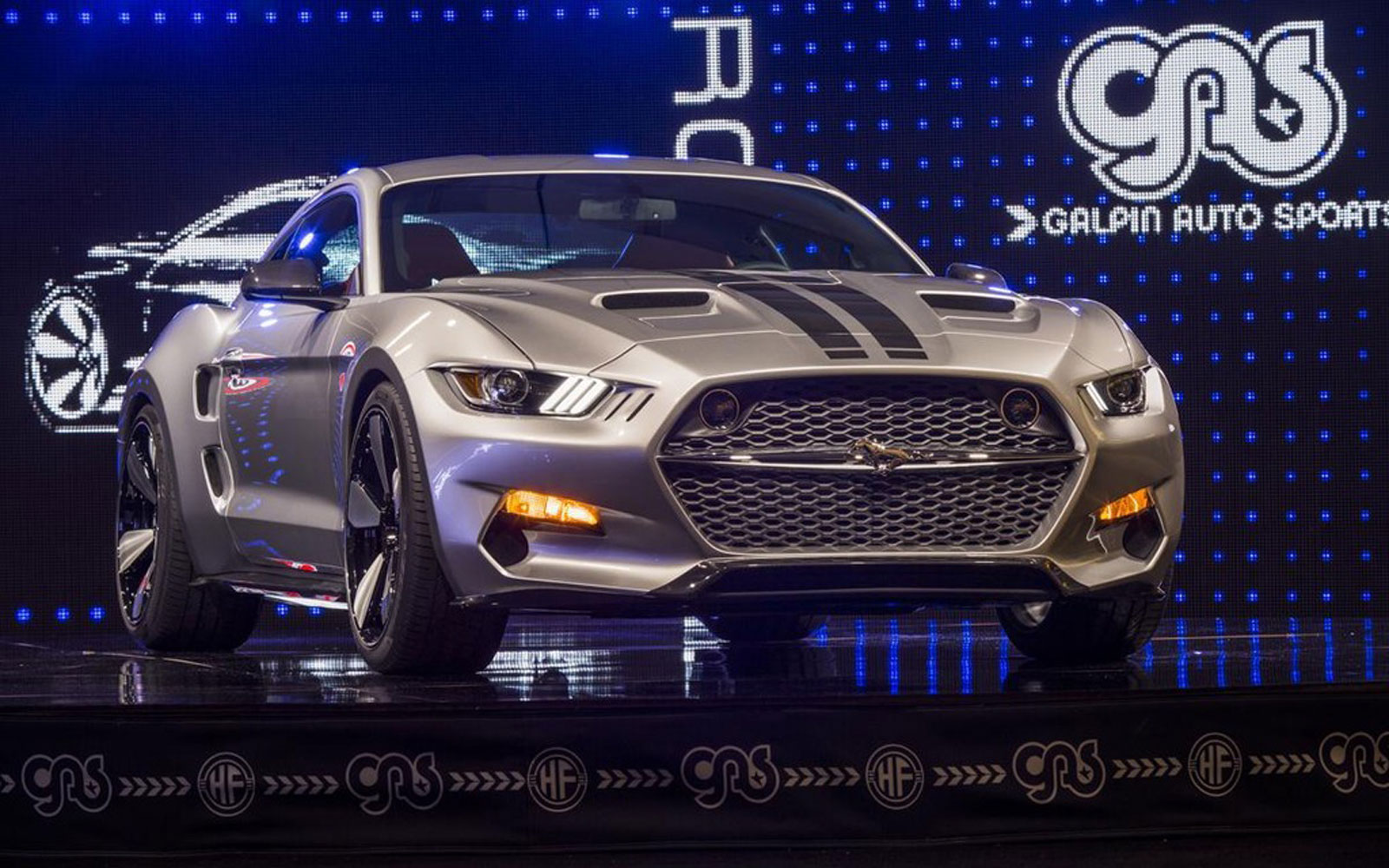 The Fisker Galpin Auto Sports 725HP Mustang Rocket
