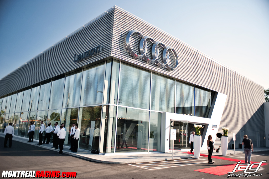 Opening Of The New Audi Terminal