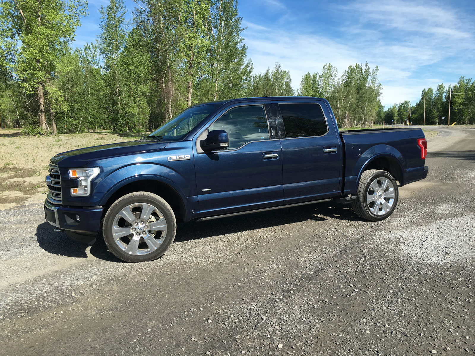 2016 Ford F 150 Review Hauling The Family In Style