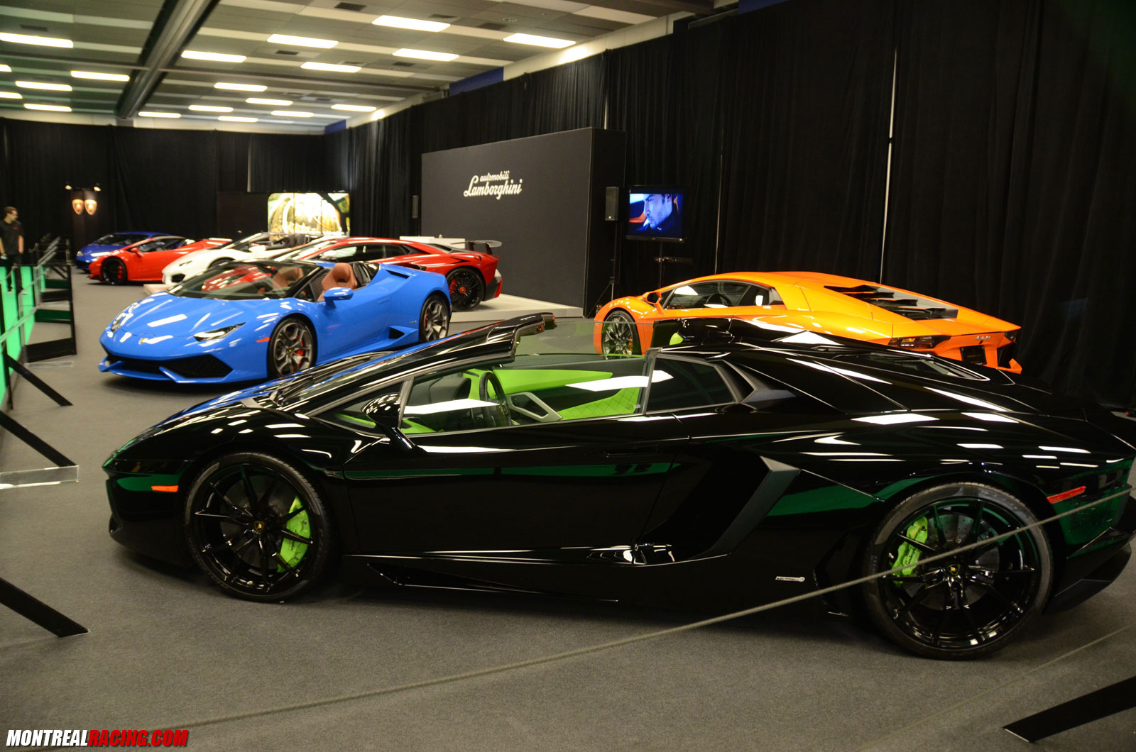 Photos Ferrari Lamborghini Mclaren Au Salon De L Auto 2017