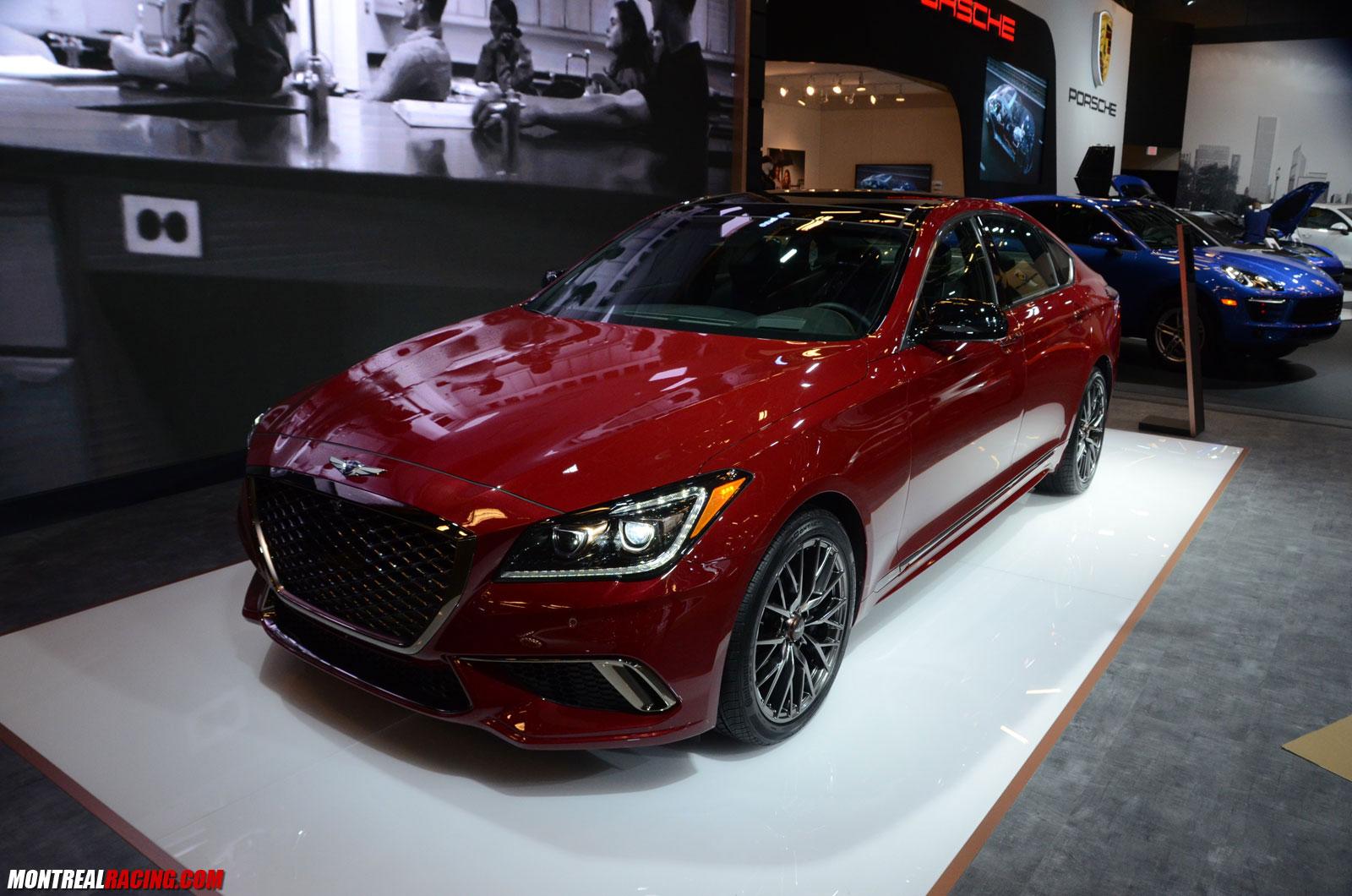 Photos Hyundai Kia Genesis At The 2017 Montreal Auto Show