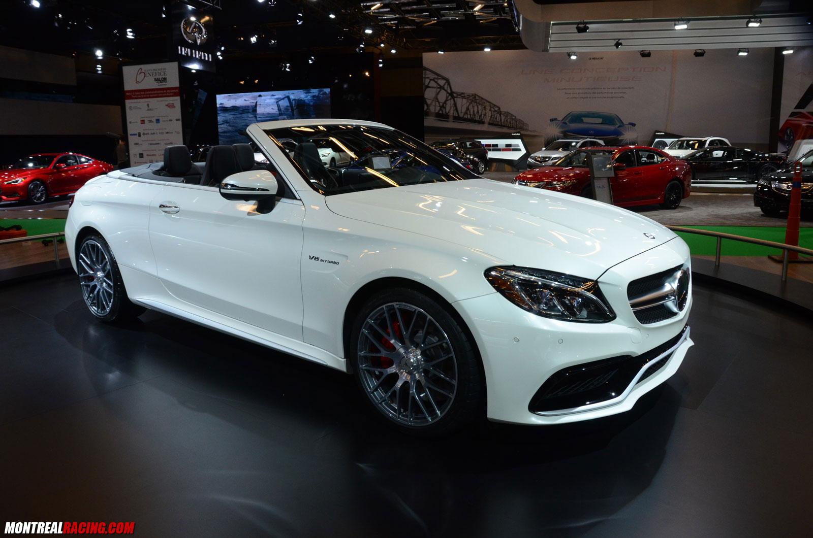 Photos mercedes benz au salon de l auto 2017 for Mercedes benz montreal