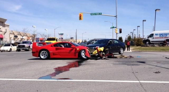 F40 Crash