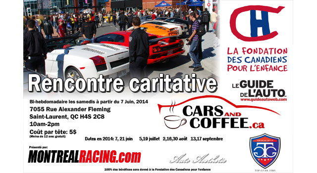 Cars and Coffee Montreal