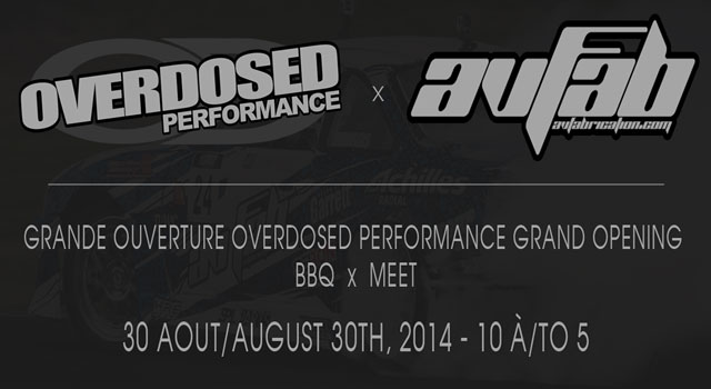 Overdosed Performance Grand Re-Opening