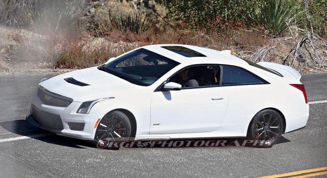 Spy Shots: Cadillac ATS-V coupe