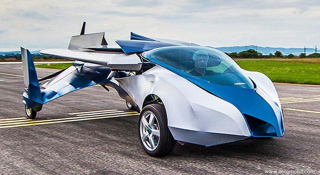La voiture volante est à nos portes