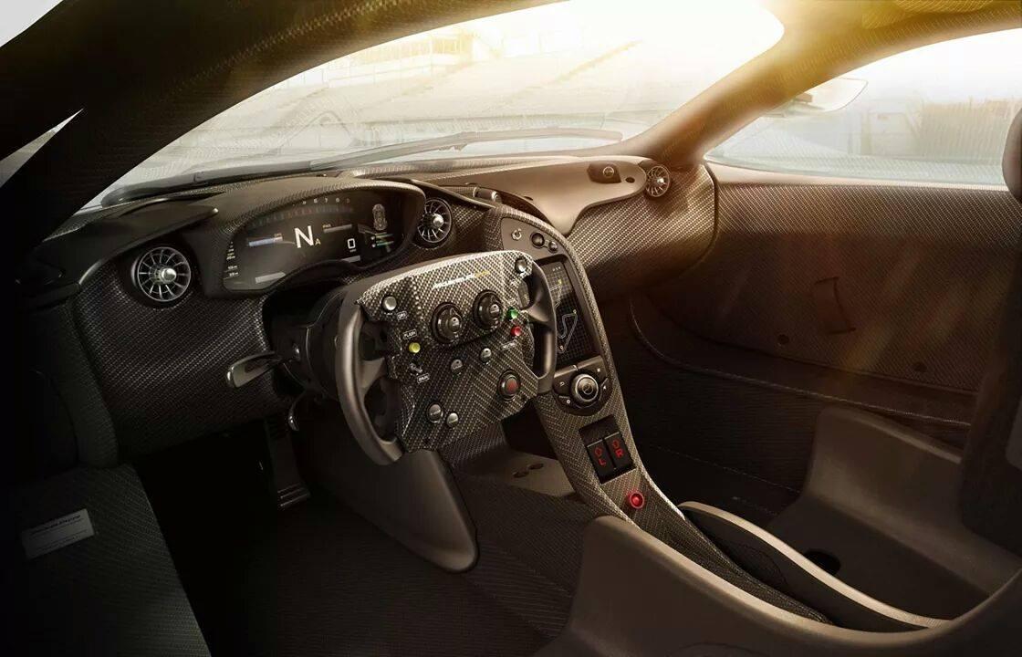 Voici des images de la McLaren P1 GTR