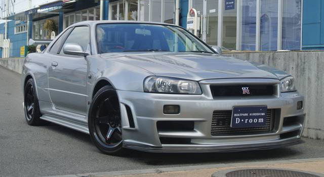 Nissan R34 Gt R Z Tune Only 447 000 Usd