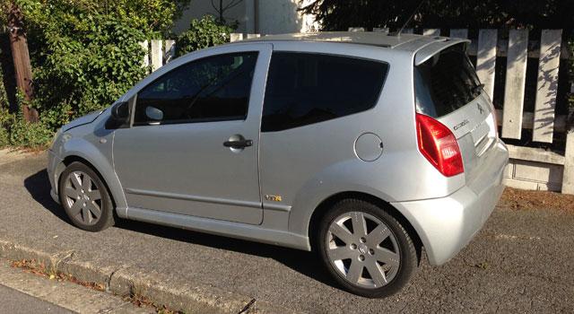Importation Citroën C2 depuis la France