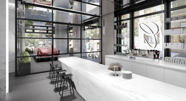 Cadillac coffee shop
