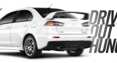 Final Mitsubishi Lancer Evolution Fetches $76,400 In National Auction To Help Drive Out Hunger (PRNewsFoto/Mitsubishi Motors North America)