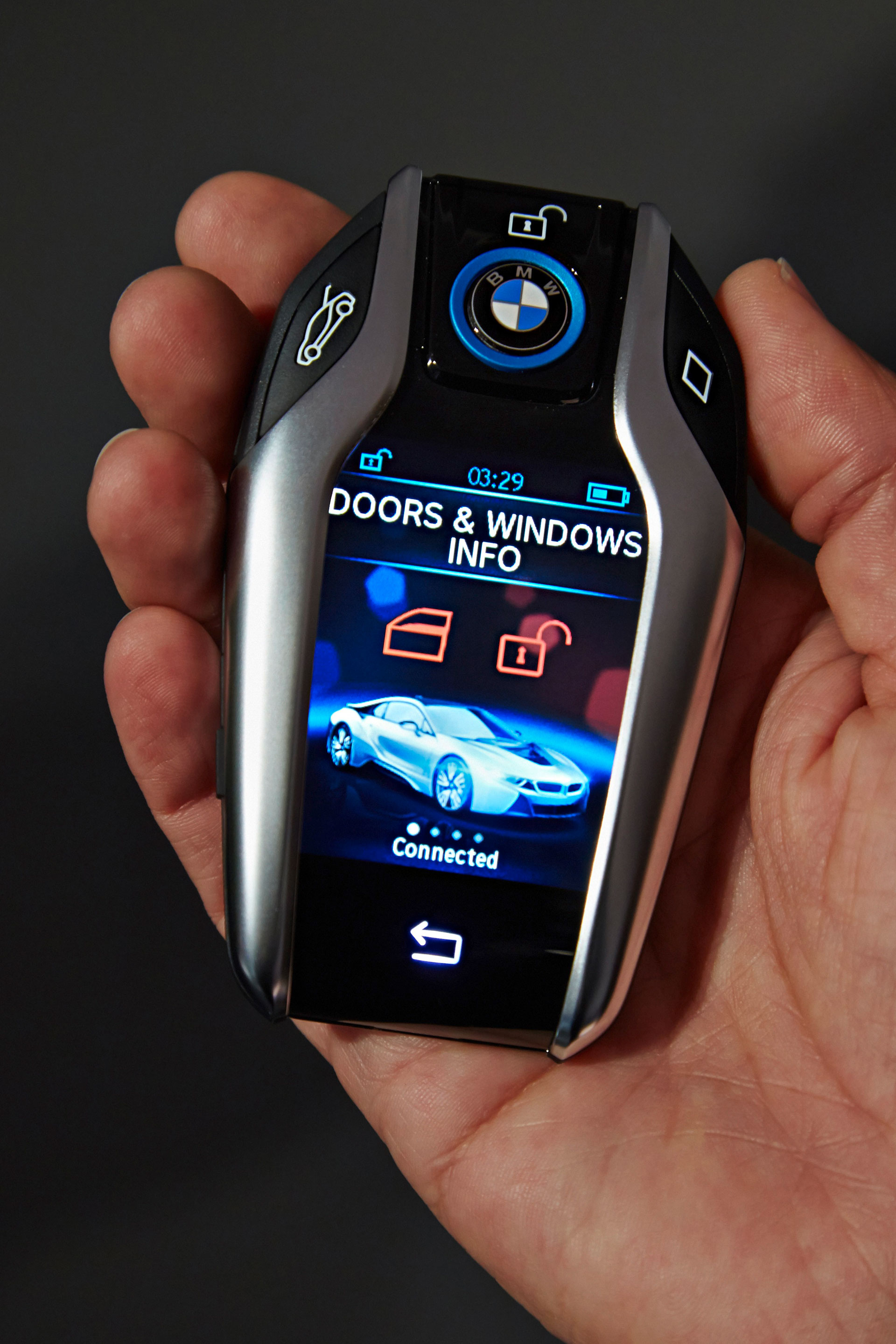 BMW's New Key Fob With LCD Display