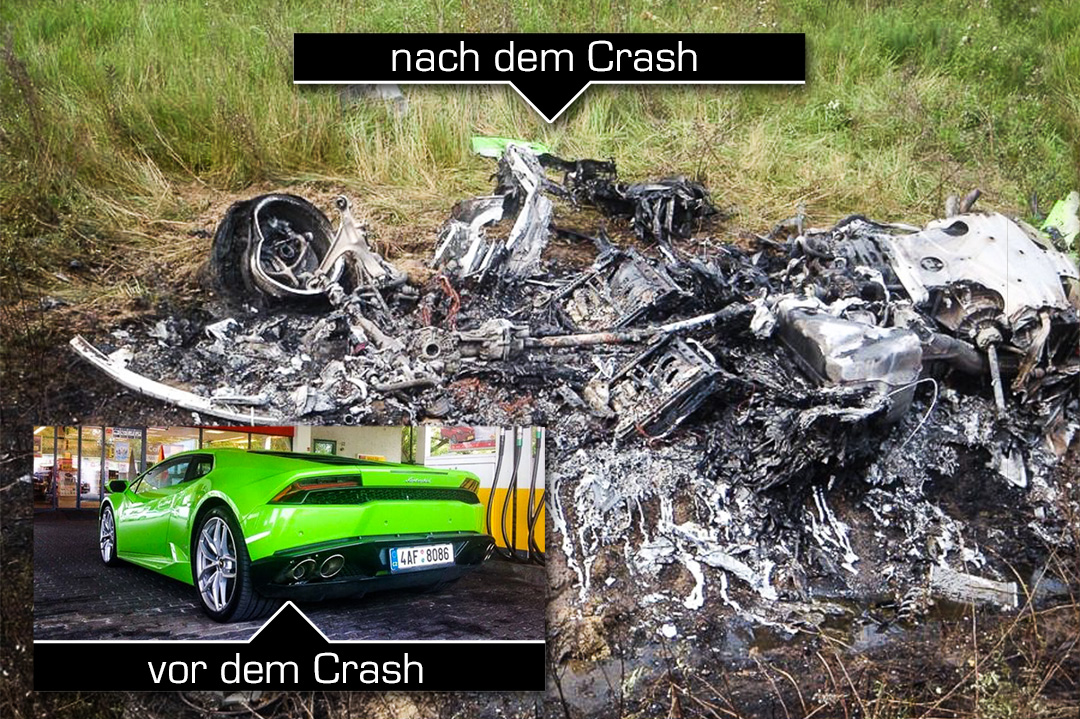 Lamborghini Huracan Crash In Hungary