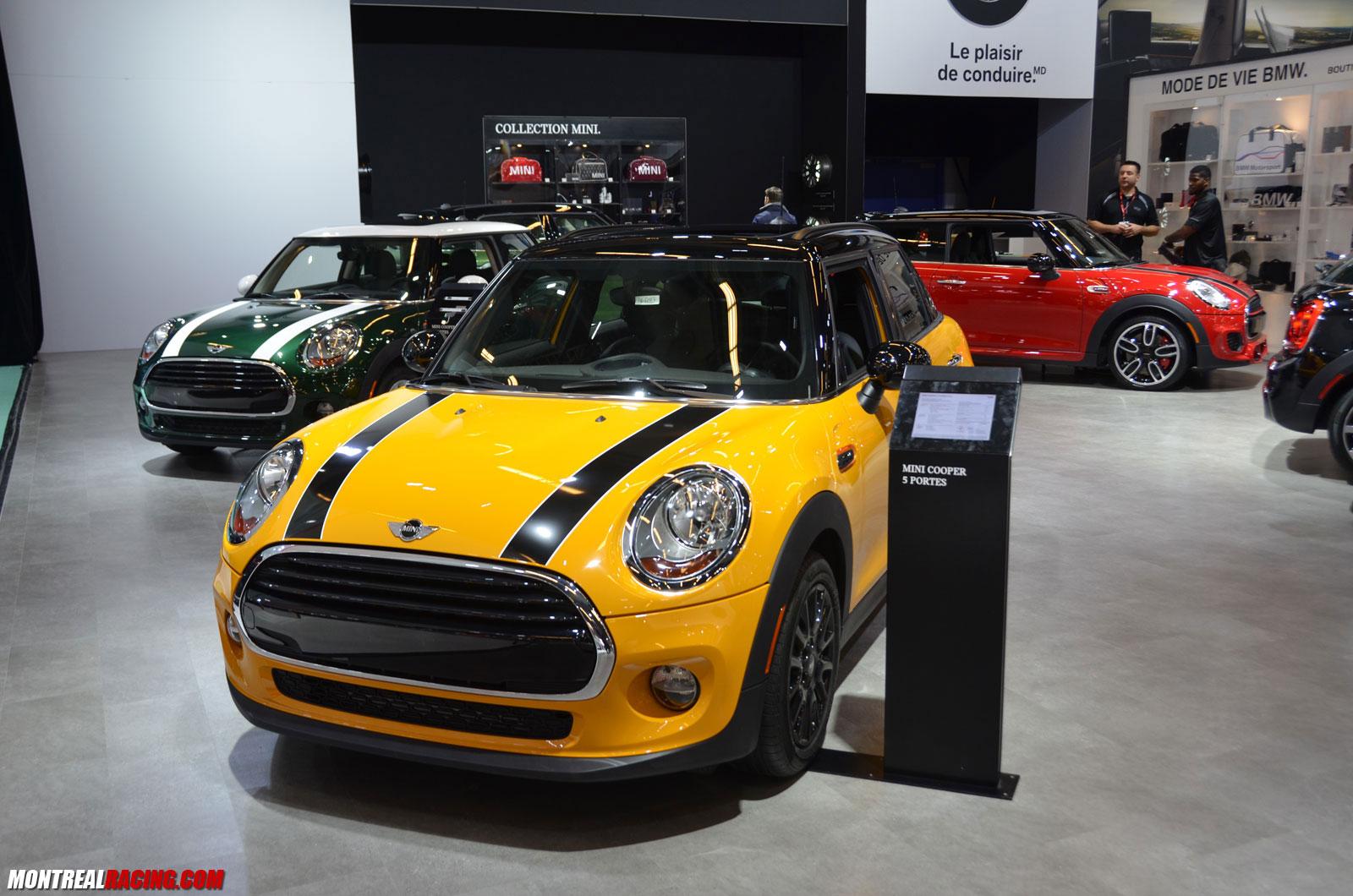 Photos Bmw Mini Au Salon International De L Auto De Montreal