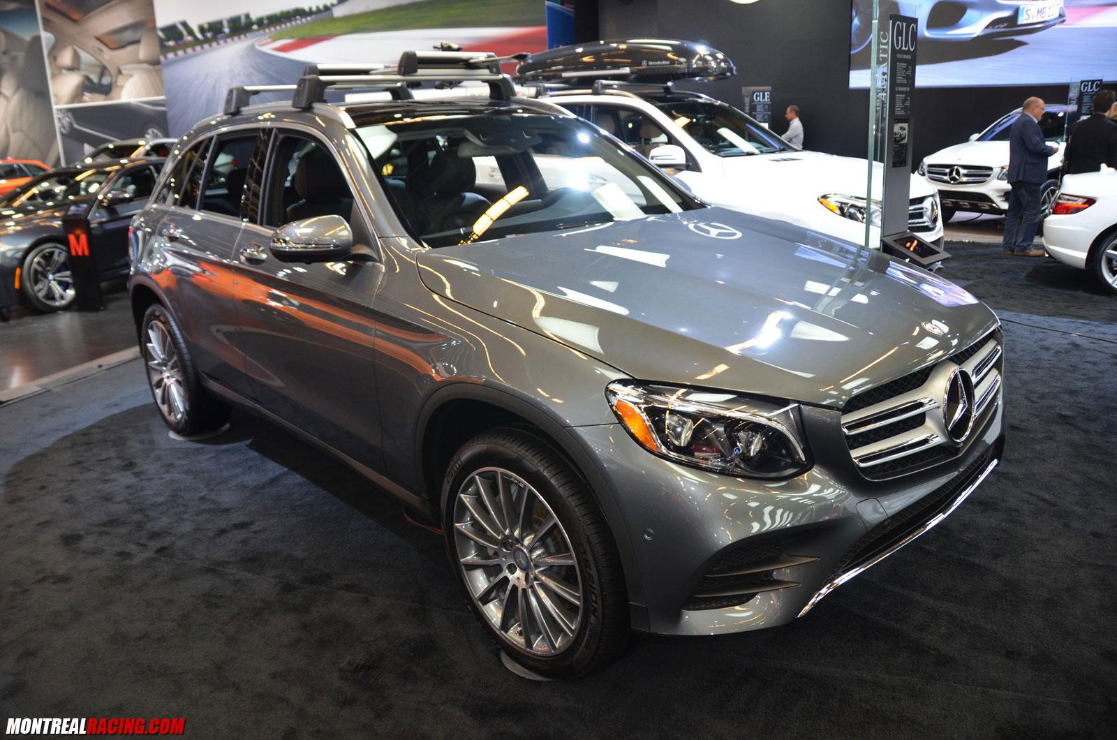 Photos mercedes au salon international de l auto de montr al for Mercedes salon