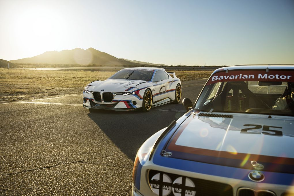 Awesome-Looking BMW 3.0 CSL Hommage R Concept Revealed