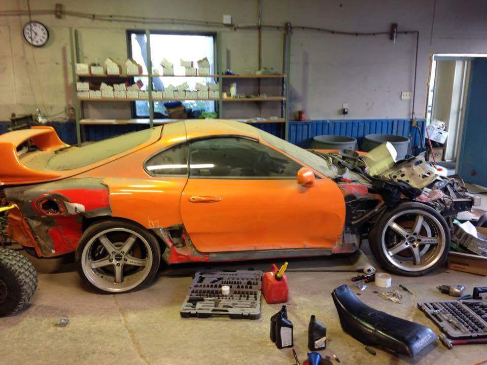 95471ae146fe The Story Behind Paul Walker s Toyota Supra Replicated By David ...