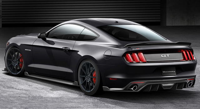 Hennessey-Tuned Mustang To Battle Corvette Z06 & SRT Hellcat