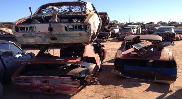 Desert Valley Auto Parts Scrap Yard | MontrealRacing com