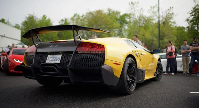 Cars And Coffee Lamborghini Montreal