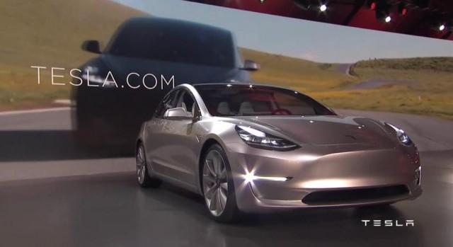 Dvoilement Tesla Model 3 Quelques Spcifications