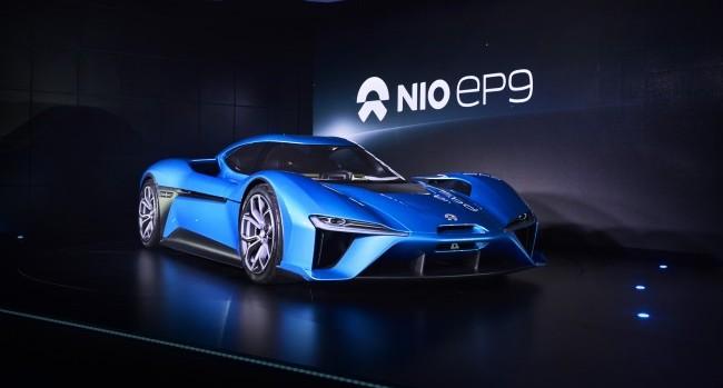 nio ep9 la voiture lectrique la plus rapide sur le n rburgring vid o. Black Bedroom Furniture Sets. Home Design Ideas