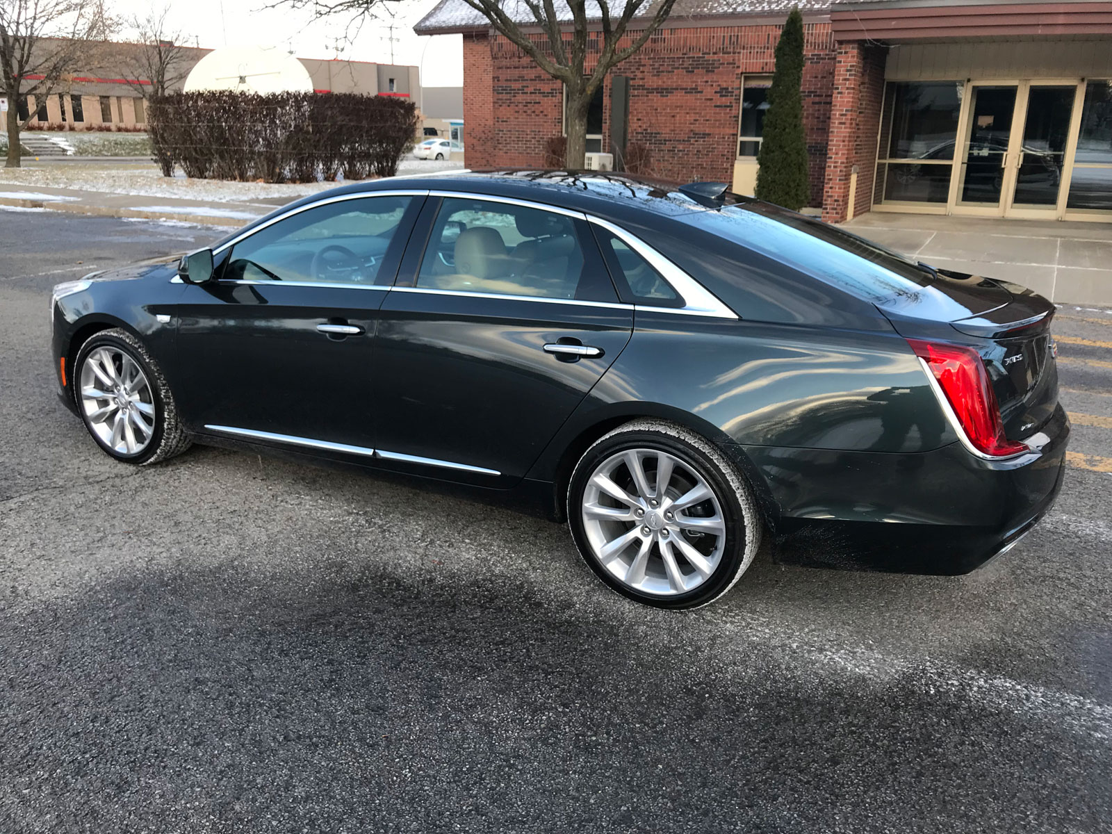 2018 Cadillac Xts V Sport Review Show Me The Buttons