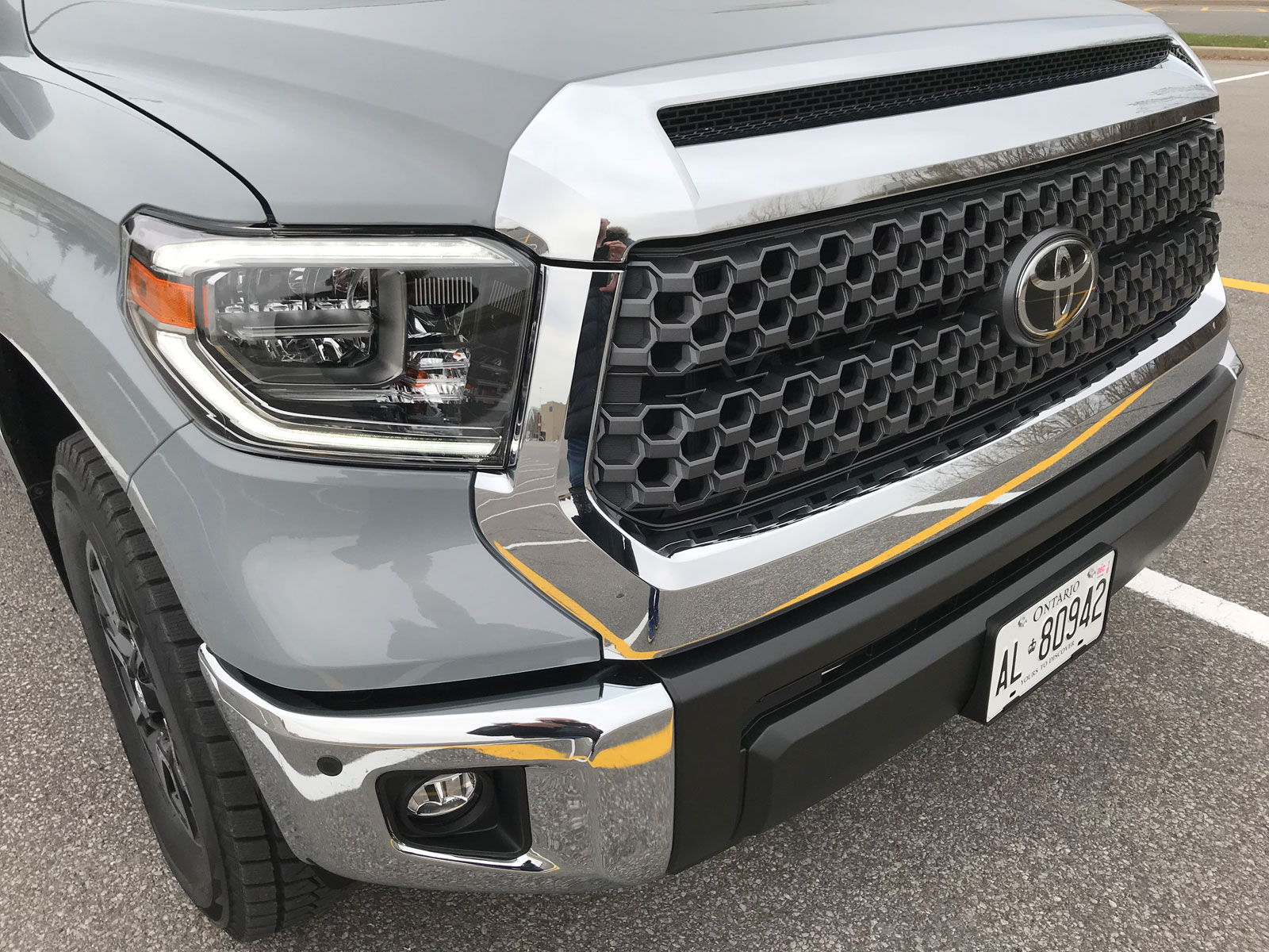 toyota tundra trd offroad package review